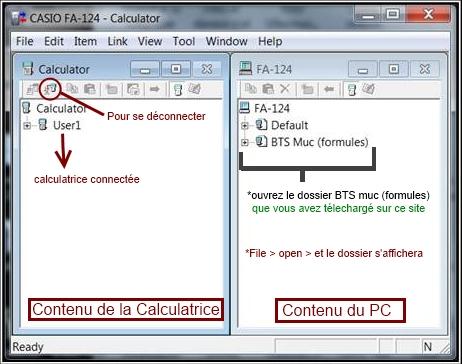 LOGICIEL CASIO FA-124 USB TÉLÉCHARGER
