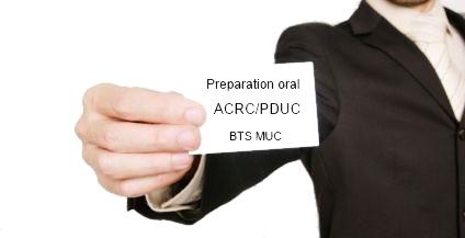 BTS MUC : Exemples d'annexes/de visuels ACRC et PDUC Voici plusieurs exemples d'annexes d'ACRC et de PDUC.